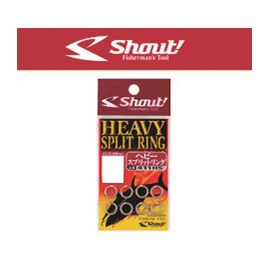 Heavy Split Ring Shout® 411-HS (n°3-68lb)