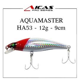 Isca Aicas Pro Series Aquamaster - 12g - 9cm - HA53 - Cabeça Vermelha