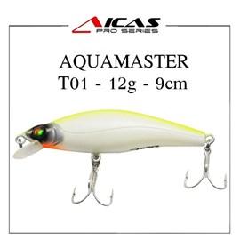 Isca Aicas Pro Series Aquamaster - 12g - 9cm - T01 - Dorso Limão