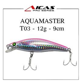 Isca Aicas Pro Series Aquamaster - 12g - 9cm - T03 - Holografico Rosa