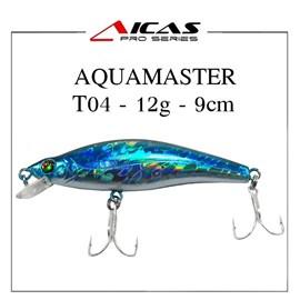 Isca Aicas Pro Series Aquamaster - 12g - 9cm - T04 - Holografico Azul