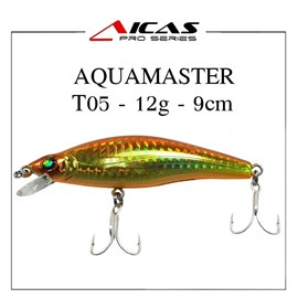Isca Aicas Pro Series Aquamaster - 12g - 9cm - T05 - Dourado