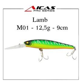 Isca Aicas Pro Series Lamb - 12,5g - 9cm - M01 - Fire Tiger