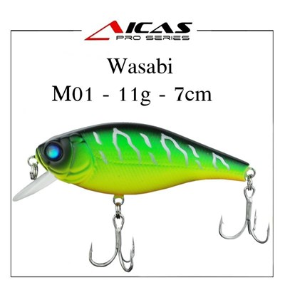 Isca Aicas Pro Series Wasabi - M01