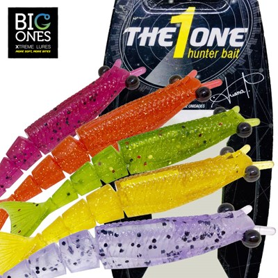 Isca Big Ones camarão - The 1 One - 10cm - c/2