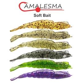 Isca Camalesma Camarão Nano - 5,8cm - c/4