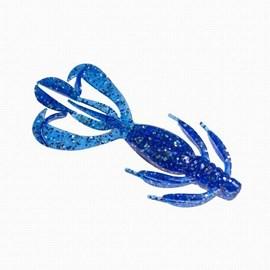 Isca Camalesma Crazzy Move Blue Shine 11cm C/2 Unidades