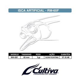 ISCA CULTIVA MIRA BAIT RM65F 34