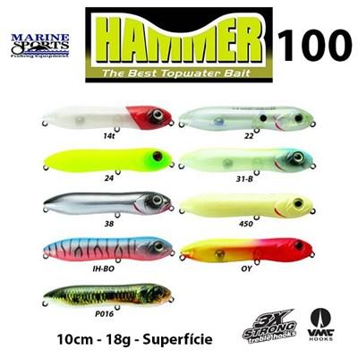 ISCA MARINE SPORTS HAMMER 100 -10CM - 18G