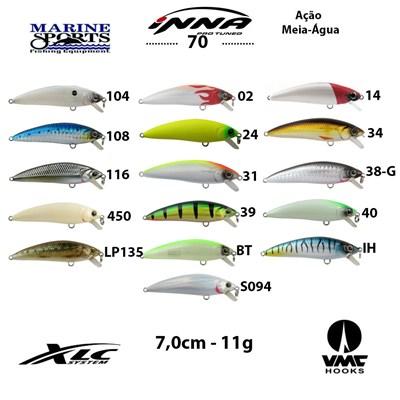 Isca Marine Sports Inna Pro Tuned 70 - 7cm - 11g