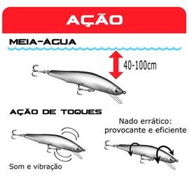 Isca Marine Sports Minimax 50S 5cm 7g Sinking Cor: N1