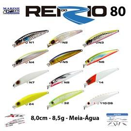 ISCA MARINE SPORTS REI DO RIO MINNOW 80 - 8CM - 8,5G - MEIA-ÁGUA