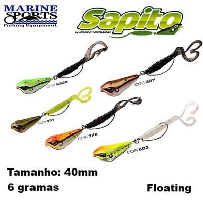 ISCA MARINE SPORTS SAPITO SP-40 - 4cm - 6 gramas