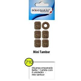 Isca Miçanga Barão  710 Empanada Mini Tambor C/6