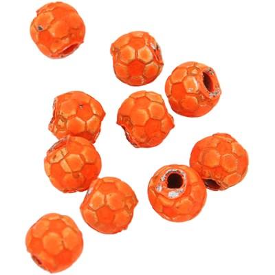 Isca Miramar bolinha de futebol - pequeno (laranja)