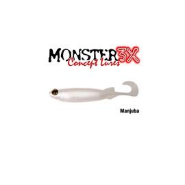 Isca Monster 3X Soft Bass E-Shad 12cm Manjuba c/5 un
