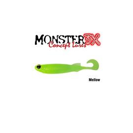Isca Monster 3X Soft Bass E-Shad 12cm Mellow c/5 un