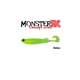 Isca Monster 3X Soft Bass E-Shad 12cm Mellow c/5 un