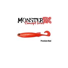 Isca Monster 3X Soft Bass E-Shad 12cm Premium Shad c/5 un