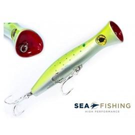 ISCA SEA FISHING SEA HUNTER POPPER 116G 200MM DOURADO