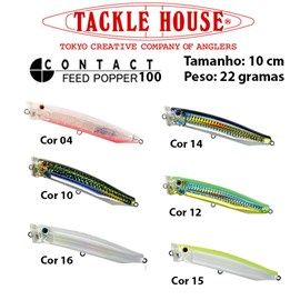 Isca Tackle House Feed Popper 100  - 10,0cm - 22 gramas
