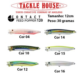 Isca Tackle House Feed Popper 120 - 12,0cm - 30 gramas