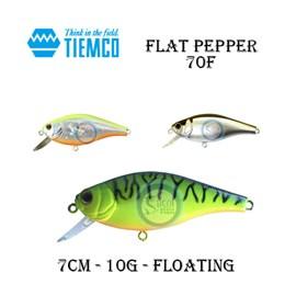 ISCA TIEMCO FLAT PEPPER 70F - 7CM - 10G