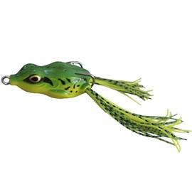 Isca Yara Crazy Frog 5,5 - 11,5g - Verde / Amarelo
