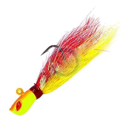 Isca Yara Killer Jig - 10g - Cor Vermelho e Amarelo - C/1 un