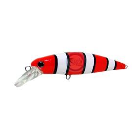 Isca Yara Top Minnow - 7,5cm - 7,8g - Cor 16 - Cobra Coral
