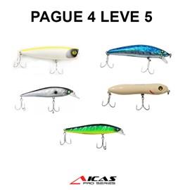 Iscas Aicas Pague 4 leve 5