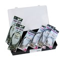 Kit Anzol Encastoado - Anzol 4330 - 2/0 - 5/0 - 7/0 - 10/0 - 7/0