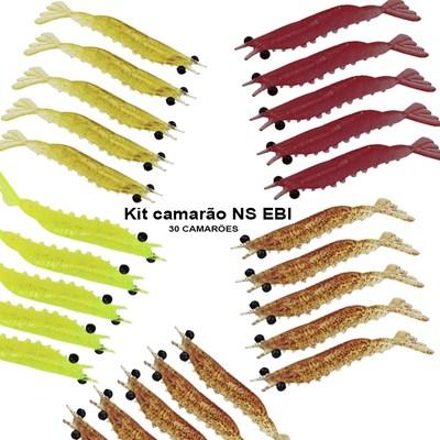 KIT CAMARÃO NS EBI - 30 UNIDADES - Cores variadas