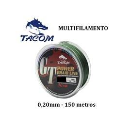 Kit com 3 linhas multifilamento GT POWER de 150m