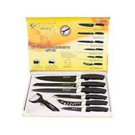 Kit de Facas Elite - Inox - 7 pçs - EL 3752