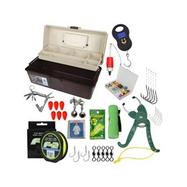 Kit Pesca - Caixa de Pesca Emifran EP-050 - Acessórios
