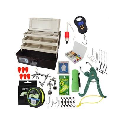 Kit Pesca - Caixa de Pesca Emifran EP-090 - Acessórios