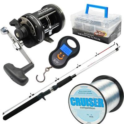 Kit pesca pesada