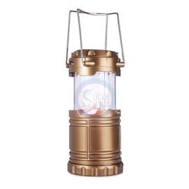 Lanterna Lamp 6 Leds - 3W - Original Line - 3 Modos Recar - Cabo ener- Pilha AAA - Solar - Bivolt
