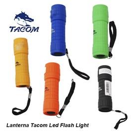 LANTERNA TACOM 9 LED FLASH LIGHT - CORES VARIADAS