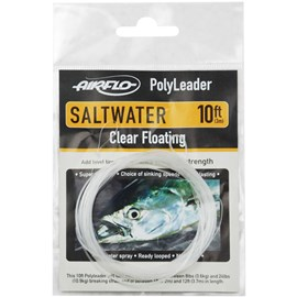 Leader de Fly Airflo Saltwater PolyLeader PFO-10SW (Clear Floating)