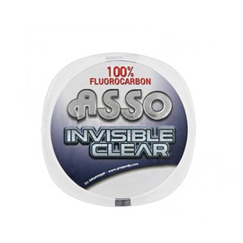 Linha Asso Leader Invisible Clear C/ 50m