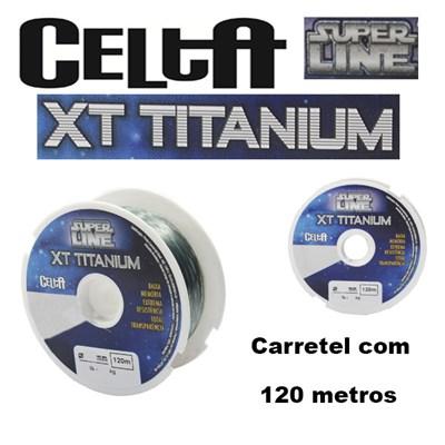 LINHA CELTA SUPER LINE XT TITANIUM - 120 metros