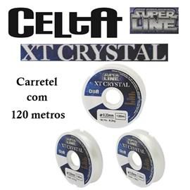 LINHA CELTA XT CRYSTAL - 120 METROS - TRANSPARENTE