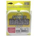 Linha Marine Sports Super Bass - 0,33mm - 17lb (7,70kg) - 250m - Amarelo