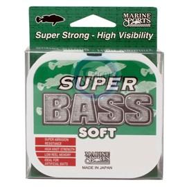 Linha Marine Sports Super Bass - 0,40mm - 24lb (10,87kg) - 250m - Verde