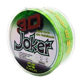 LINHA MARURI 3D JOKER - 0,18MM - 300M
