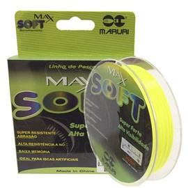 Linha Maruri Max Soft 0,37mm Verde Limão 300m