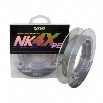 Linha Maruri NK 4X PE Multifilamento 0,40mm 50lb 200m