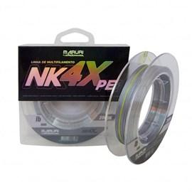 Linha Maruri NK 4X PE Multifilamento 0,50mm 58lb 200m